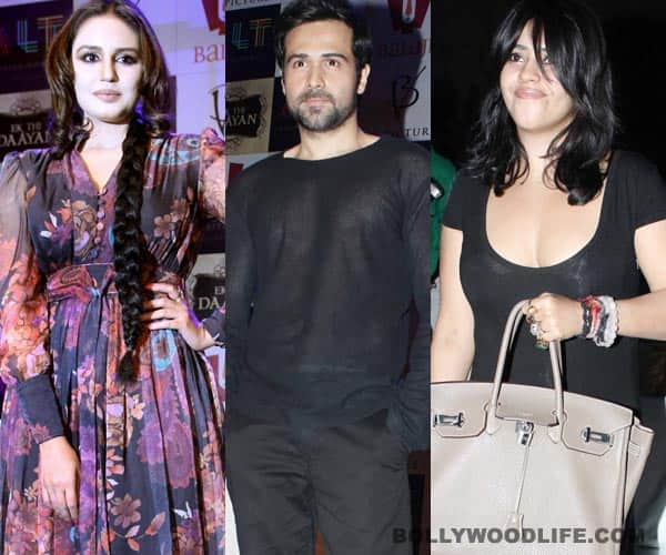 Emraan Hashmi, Ekta Kapoor, Huma Qureshi to promote Ek Thi Daayan at the Kumbh Mela