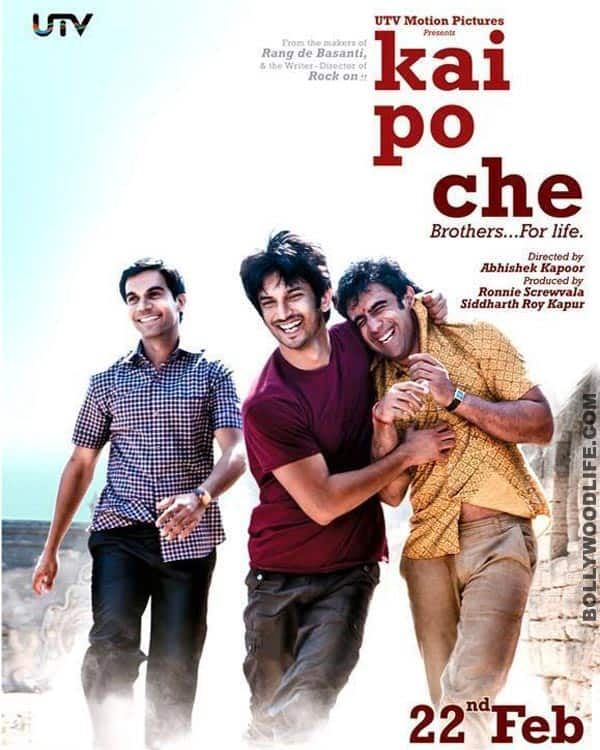 Kai Po Che! gets 'U' certificate: Siddharth Roy Kapur and Abhishek Kapoor elated