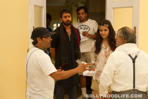 Matru Ki Bijlee Ka Mandola on the sets images: Anushka Sharma, Imran Khan, Pankaj Kapur have fun while shooting