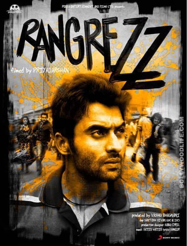 RANGREZZ poster: Jackky Bhagnani goesrustic