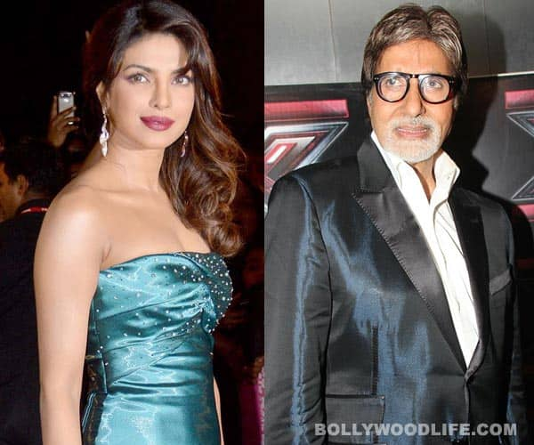 Priyanka Chopra to felicitate Amitabh Bachchan at an awards ceremony