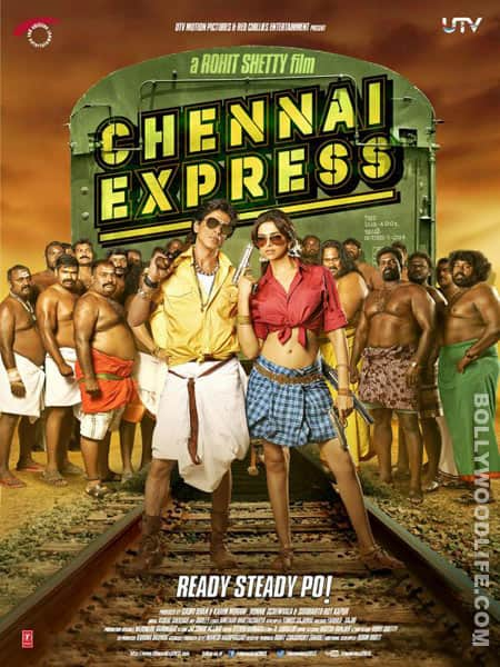 Chennai Express poster: Is Shahrukh Khan asking for trouble?