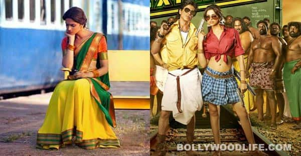 What does Deepika Padukone look hotter in: a half-saree or a checked lungi?