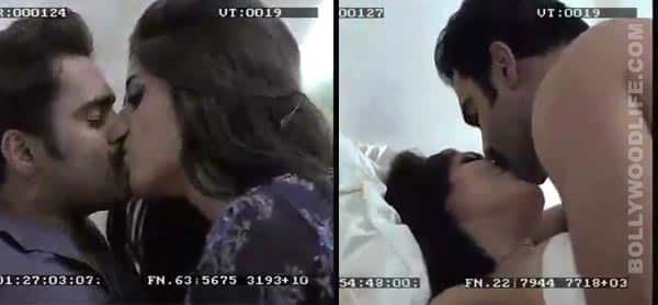 Hot MMS leaked: Gihana Khan in a full-fledged make-out session with Sachiin Joshi