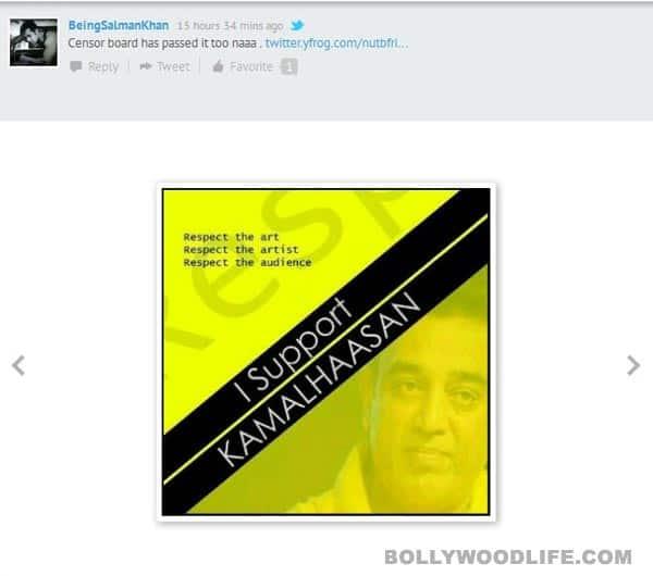 Vishwaroopam ban: Salman Khan, Shyam Benegal, Shabana Azmi, Siddharth, Khushboo react!