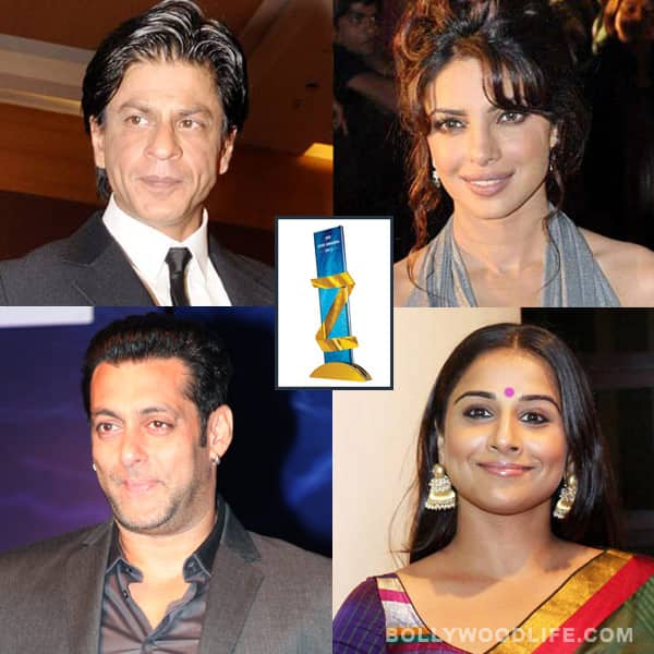 Zee Cine Awards 2013 nominations: Shahrukh Khan, Salman Khan, Priyanka Chopra, Vidya Balan – who will win?