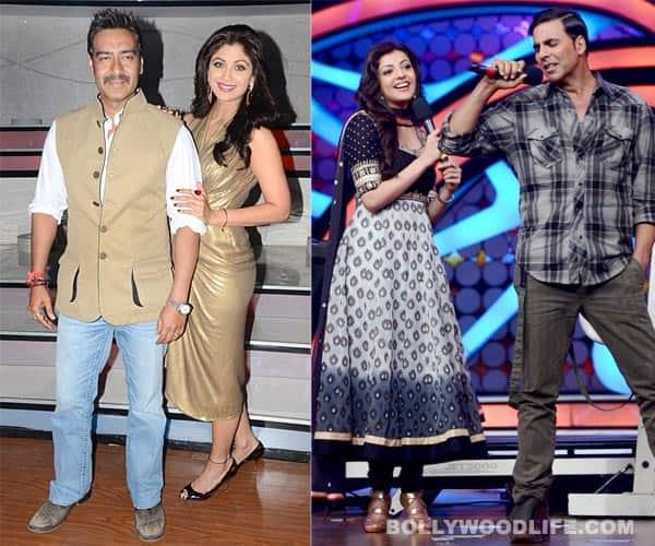 Nach Baliye 5: Akshay Kumar, Ajay Devgn, Kajal Aggarwal have fun