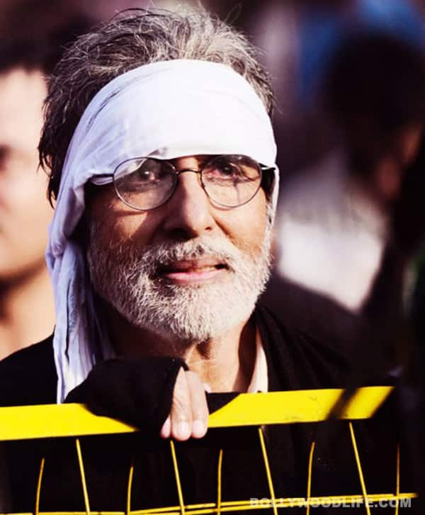Why was Amitabh Bachchan protesting in Bhopal?