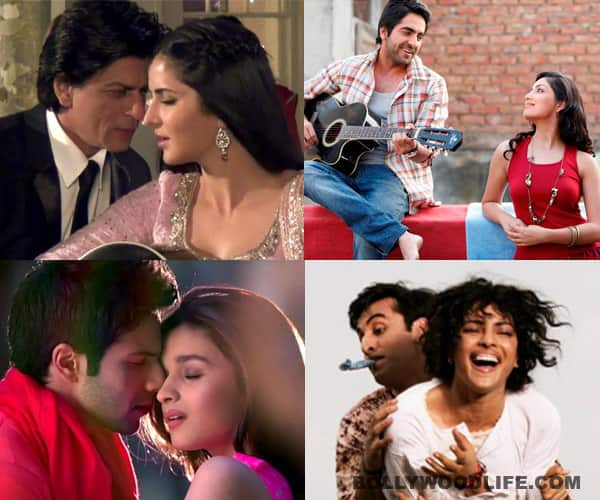 Valentine's Day special: Jab tak hai jaan, Ishq wala love, Pani da rang, Aashiyaan…tune in to your favourite romantic songs