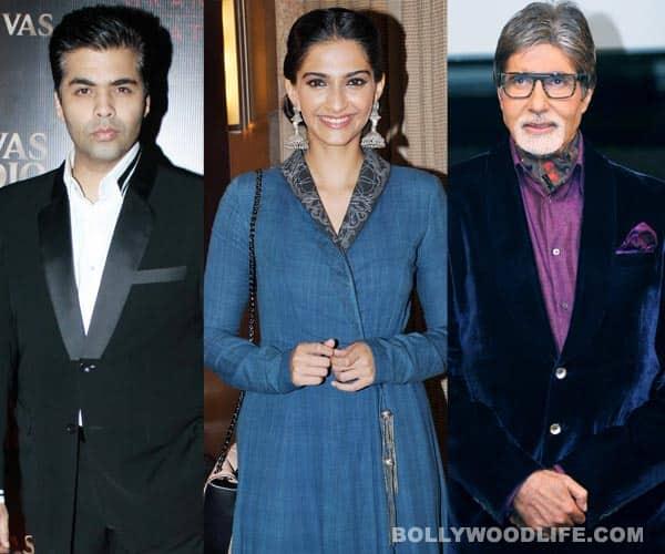 Amitabh Bachchan, Karan Johar, Sonam Kapoor wish Abhishek Bachchan happybirthday