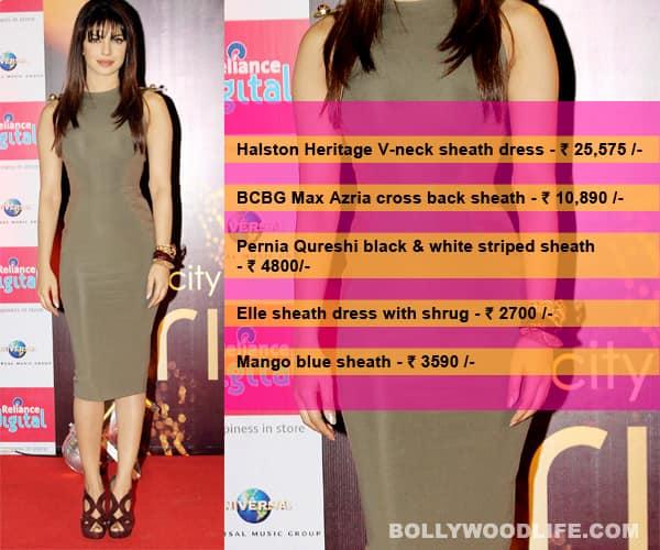 Want Priyanka Chopra's classy sheathfrock?