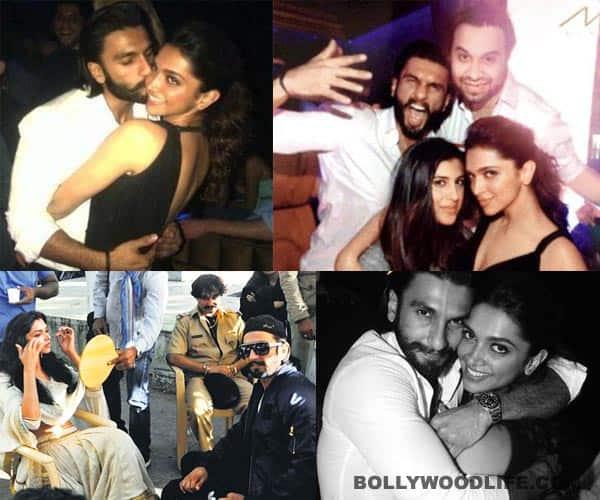 Ramleela unseen pics: Deepika Padukone and Ranveer Singh get cosy