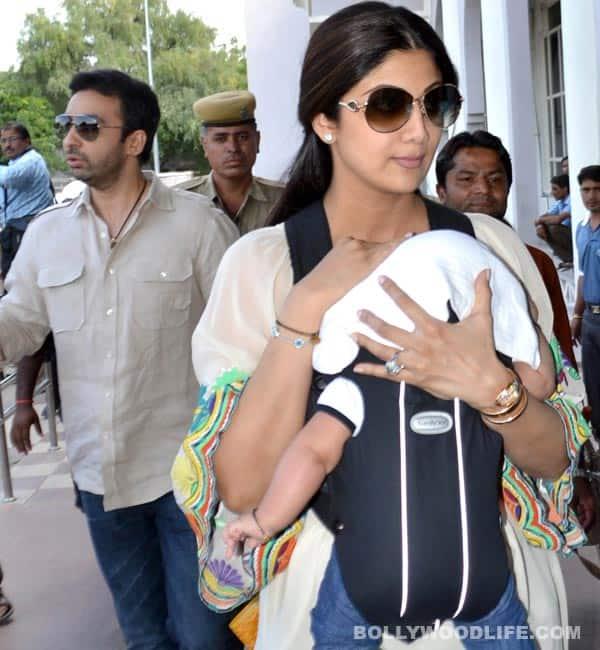 Shilpa Shetty skips Nach Baliye 5 shoot as son Viaan fallsill