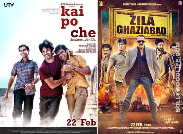 Box office report: Kai Po Che! beats Zila Ghaziabad by a huge margin in the opening weekend