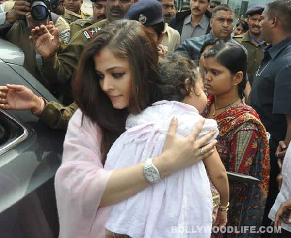 Aishwarya Rai Bachchan, Aaradhya spend Valentine's Day in Bhopal: see pics