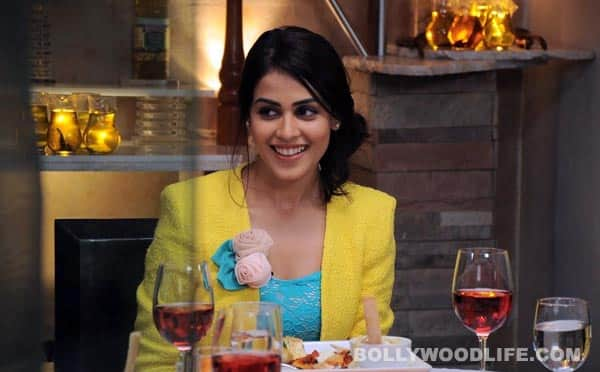 <b>Genelia D'Souza:</b> We love her yellow blazer, and that tousled look is simply icing on the cake.