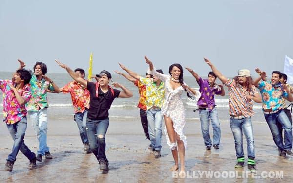 Judi Shekoni's bikini shoot on Mumbai beach: Sexy, raunchy or blah?