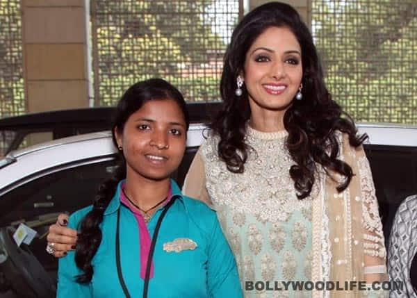 Sridevi inspired by cab driver Savita