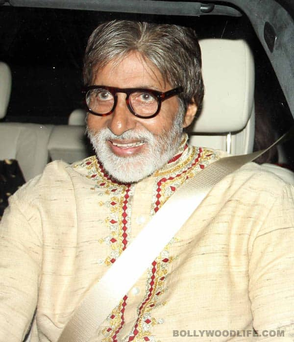 Amitabh Bachchan: Can I have my Merc logo back!