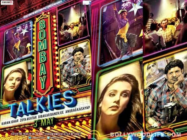 Bombay Talkies first look: Karan Johar, Anurag Kashyap, Zoya Akhtar and Dibakar Banerjee pay tribute to Indian cinema