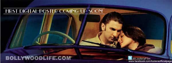 Lootera digital poster: Ranveer Singh and Sonakshi Sinha's fairytale romance