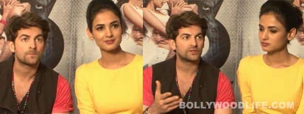 Neil Nitin Mukesh and Sonal Chauhan come clean on the kissing controversy in 3G: Watch video interview!