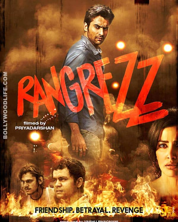 Rangrezz new poster: Jackky Bhagnani shows some attitude!