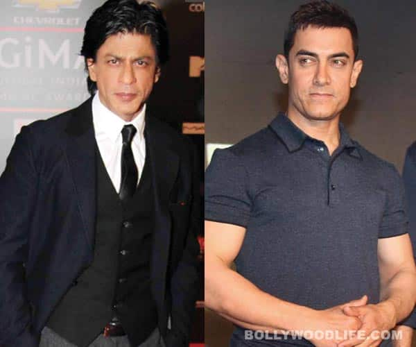 Does Shahrukh Khan owe his stardom to Aamir Khan?