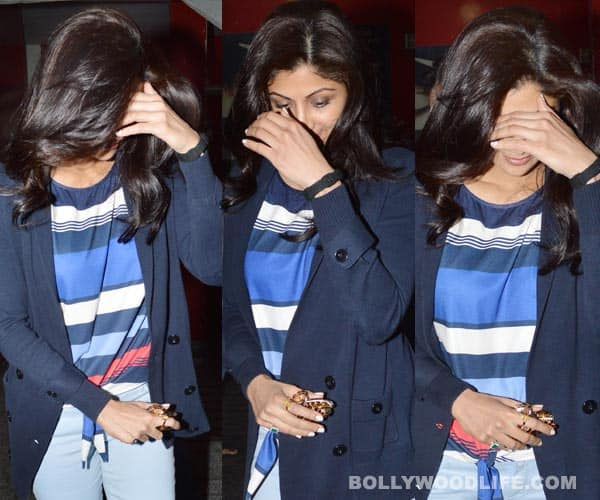 Why is Shilpa Shetty Kundra acting camera-shy?