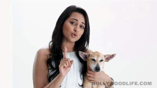 Sonakshi Sinha speaks up for dogs' sterilisation through PeTA India campaign