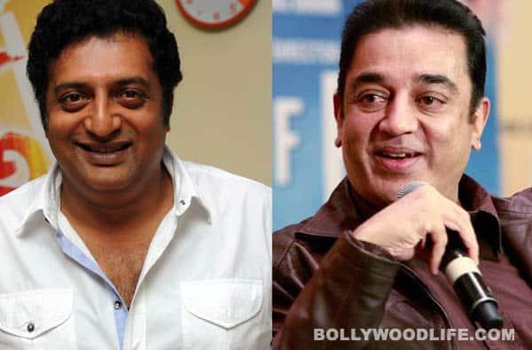 Kamal Haasan wows Prakash Raj on Neengalum Vellalam Oru Kodi