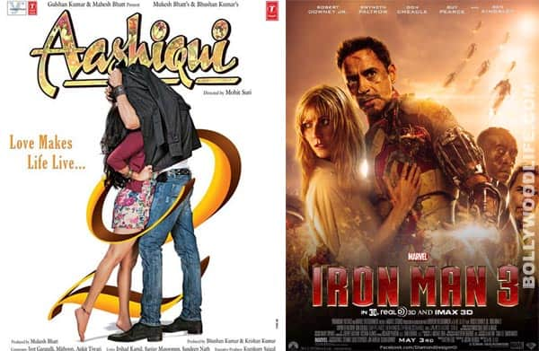 Box office: Iron Man 3 overtakes Aashiqui 2 in the opening weekend