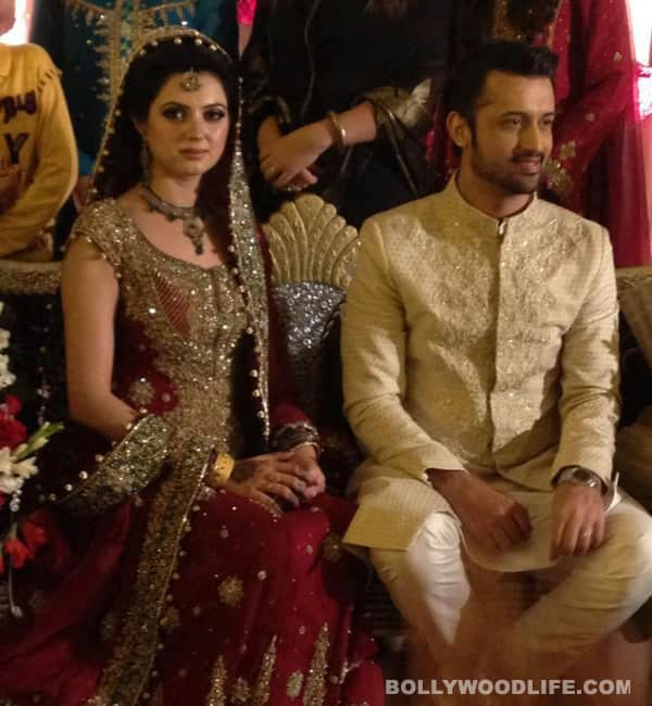 Atif Aslam and Sara Bharwana wedding and Walima: Aren't they the cutest couple? – view pictures