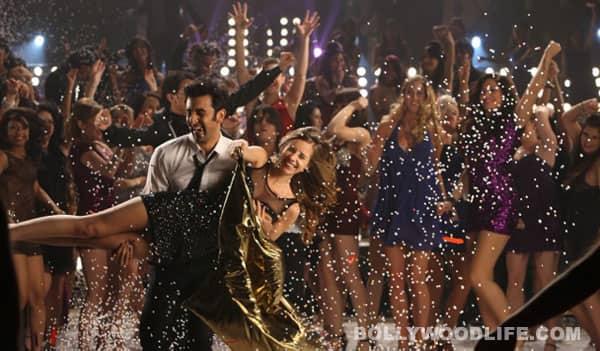 Yeh Jawaani Hai Deewani song Badtameez dil pics: Ranbir Kapoor pours champagne over Deepika Padukone!