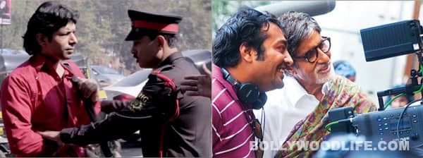 Amitabh Bachchan's security guard makes his acting debut in Anurag Kashyap's Bombay Talkies!