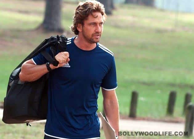 Gerard Butler falls ill after drinking water from the Ganges