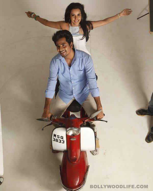 Ethir Neechal new stills: Siva Karthikeyan-Priya Anand get romantic