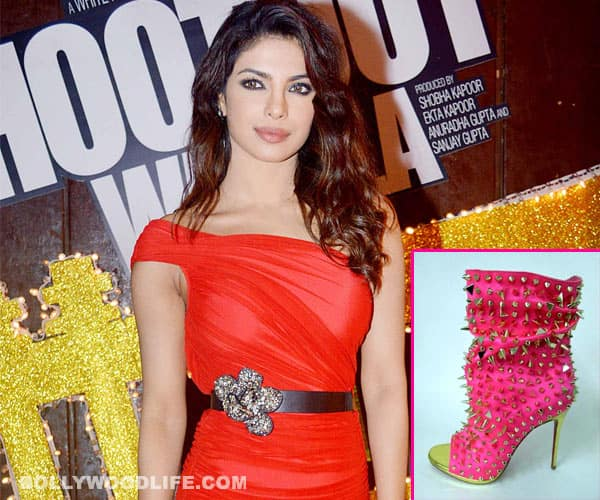 Priyanka Chopra to auction her hot pink Christian Louboutin shoes for a cause