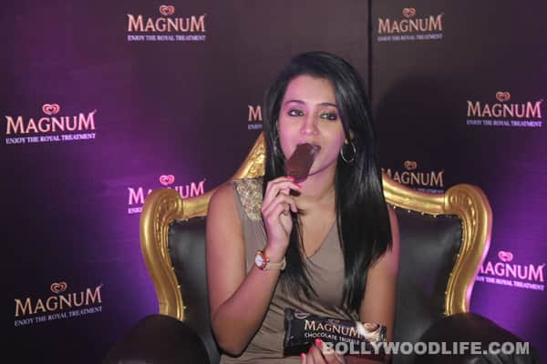 Trisha strikes cool deal with ice cream brand