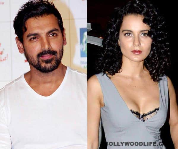 Kangna Ranaut injured while getting intimate with John Abraham!