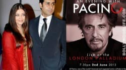 Aishwarya Rai Bachchan and Abhishek Bachchan's evening with Al Pacino!