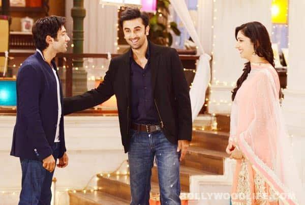 Ranbir Kapoor on the sets of Pyaar Ka Dard Hai Meetha Meetha Pyaara Pyaara: View pics