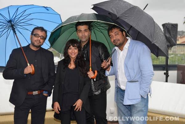 Did Karan Johar play stylist for Anurag Kashyap, Zoya Akhtar at Cannes?