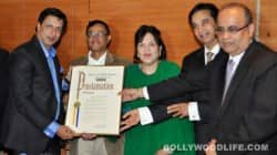 Madhur Bhandarkar honoured with New York Citizens Achievement Award