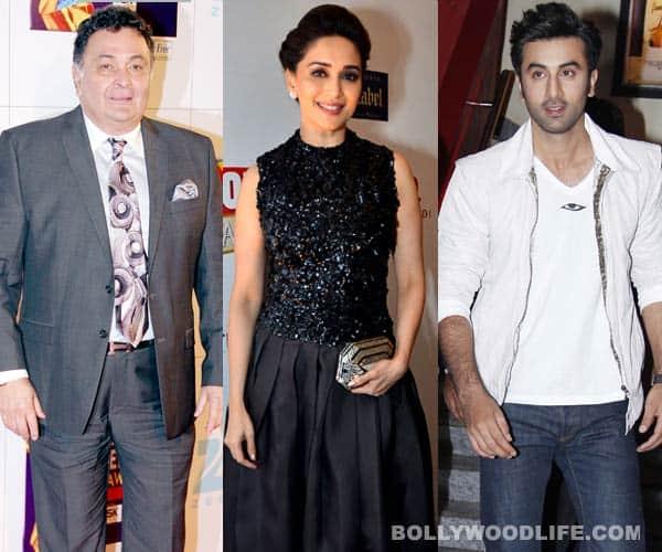 Ranbir Kapoor likes Madhuri Dixit Nene, she prefers his father Rishi Kapoor!