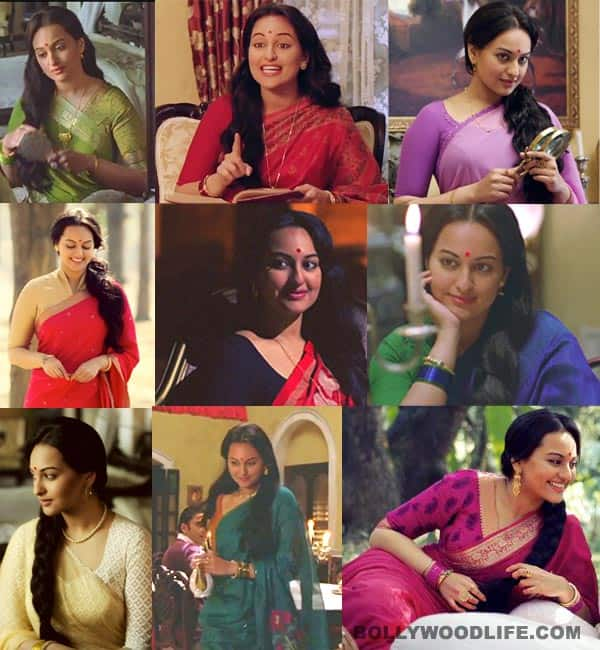 Sonakshi Sinha changes nine sarees in two and a half minutes in Sanwaar loon song from Lootera