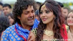 Bobby Deol thinks Neha Sharma will get kidnapped if she starts dancing!