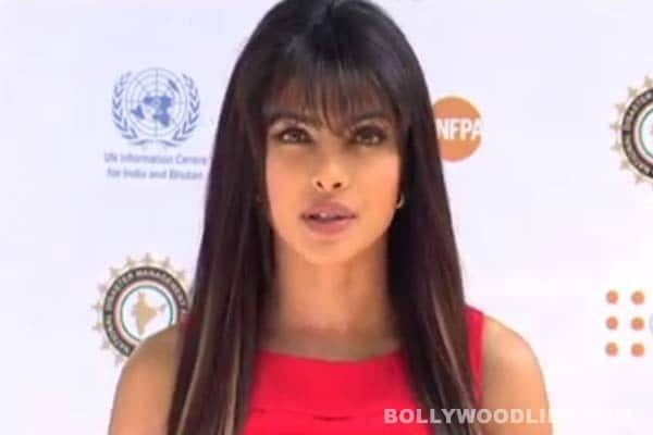 Priyanka Chopra stands against sexual violence during natural calamities!