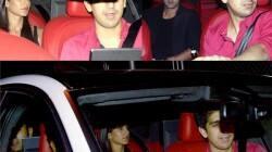 Ranbir Kapoor and Katrina Kaif arrive together at Karan Johar's birthday bash: View pics