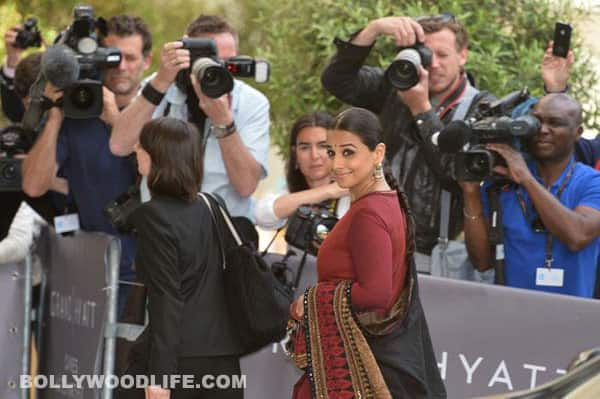 Cannes 2013: Vidya Balan sets the red carpet on fire!